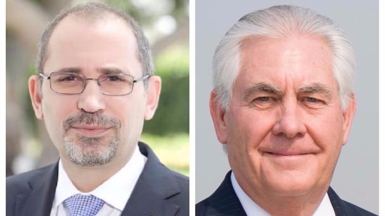 مباحثات أردنية أمريكية بشأن سوريا