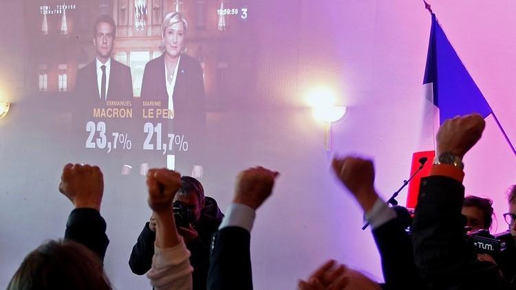 مرشحون خاسرون في انتخابات الرئاسة الفرنسية يدعمون ماكرون