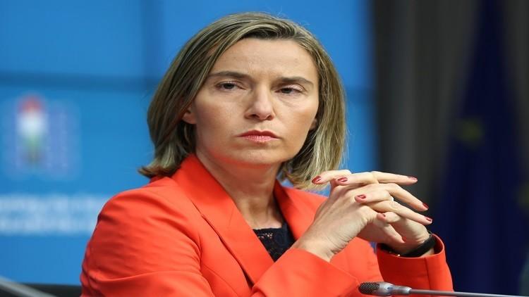 موغيريني تدعو إلى إجراء تحقيق في استهداف البعثة الأوروبية في شرق أوكرانيا