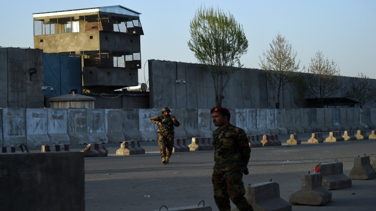 تفجير قرب قاعدة جوية أمريكية شرق أفغانستان