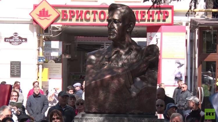نصب تمثال للرئيس الأمريكي روزفلت في يالطا
