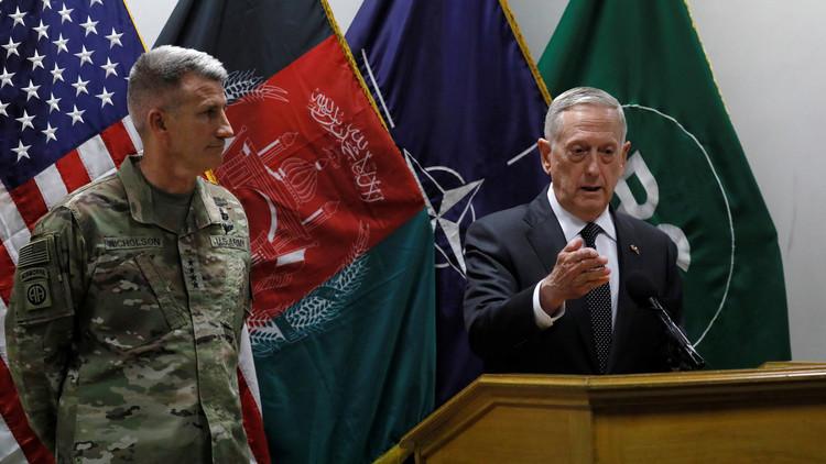 """ماتيس: على """"طالبان"""" التخلي عن الإرهاب"""