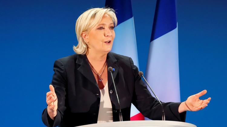 مارين لوبان تستقيل من زعامة حزبها