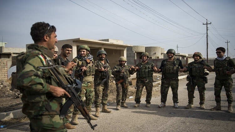 البيشمركة تطالب الكردستاني بالانسحاب من سنجار