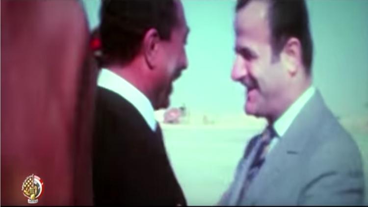 فيديو.. الرئيس السوري الراحل حافظ الأسد حاضر في احتفالات تحرير سيناء
