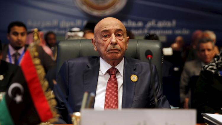 رئيس مجلس النواب الليبي: هذا ما قاله لنا حرفيا الشيخ محمد بن زايد..