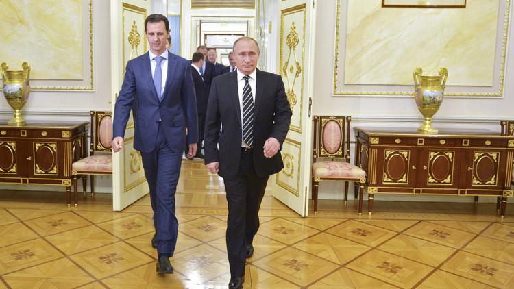 الكرملين: بوتين ليس محامي دفاع عن الأسد بل عن القانون الدولي