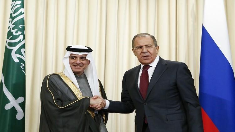 لافروف: لدينا خطط للتعاون النووي مع الرياض