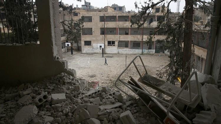 سوريا.. مقتل شخصين إثر سقوط قذيفة صاروخية على وسط دمشق