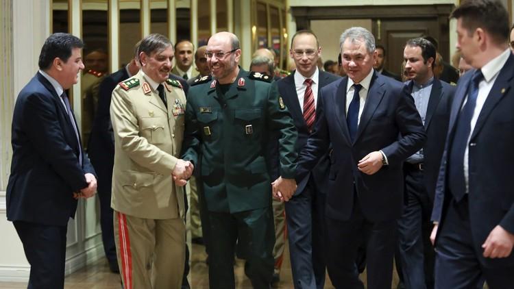 وزراء دفاع روسيا وسوريا وإيران يدينون الضربة الأمريكية