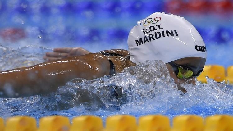 السباحة السورية مارديني أصغر سفيرة للنوايا الحسنة للأمم المتحدة