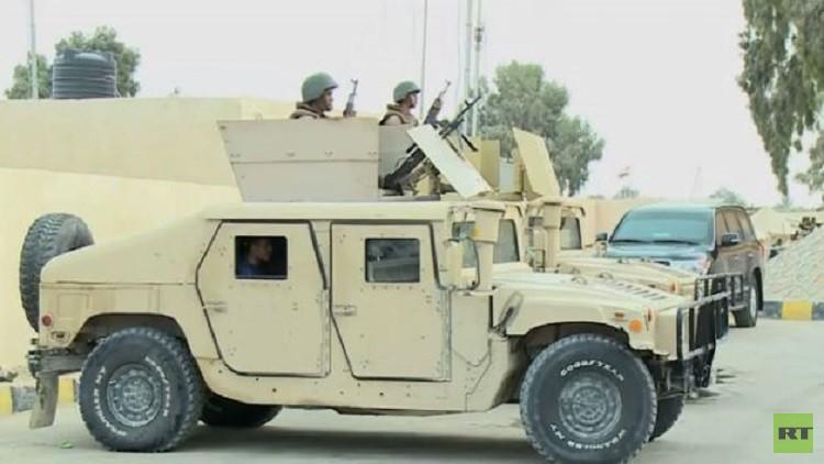 مقتل ضابط مصري بانفجار عبوة في العريش