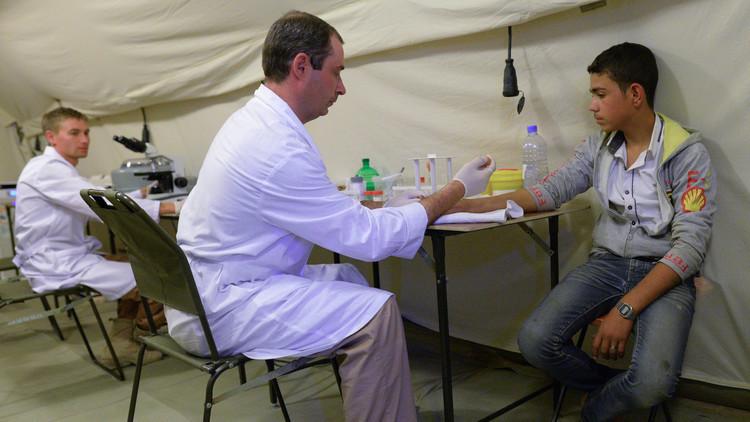 عودة وحدة طبية روسية من سوريا