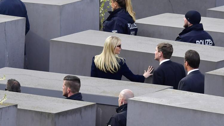 إيفانكا ترامب تزور محرقة اليهود في ألمانيا