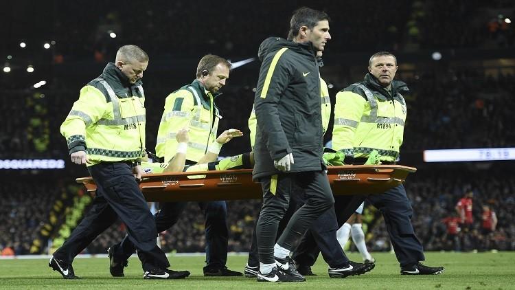 الحارس برافو ربما يغيب عن مانشستر سيتي حتى نهاية الموسم