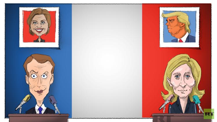من ستختار فرنسا.. مارين ترامب أم إيمانويل كلينتون؟