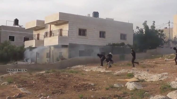 شبان فلسطينيون يحاصرون جنودا إسرائيليين في مواجهات عنيفة في بيت لحم