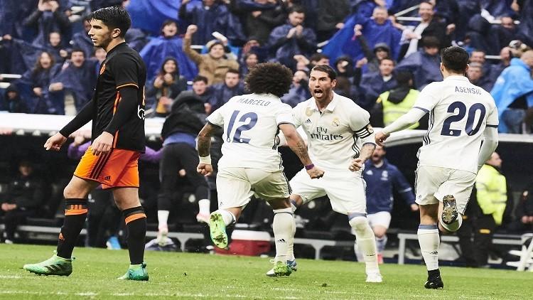 ريال مدريد يحصد 17 نقطة في الوقت القاتل في الليغا