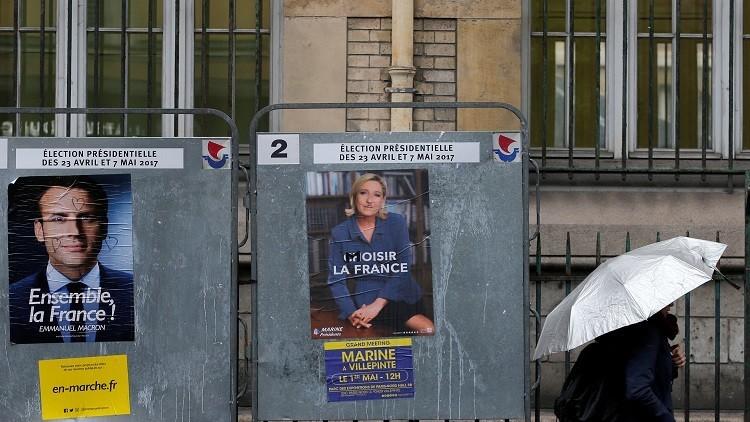 استطلاع: الفرنسيون يشكون بأهلية ماكرون ولوبان