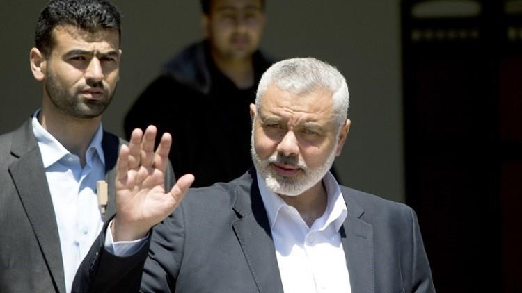 هنية: حماس مقبلة على خطوتين مهمتين