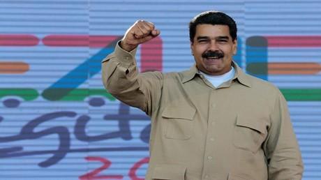الرئيس الفنزويلي نيكولاس مادورو 31/3/2017