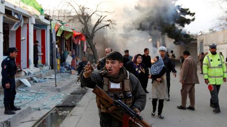 تفجير سابق في أفغانستان