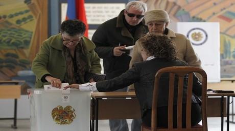انتخابات في أرمينيا- صورة أرشيفية