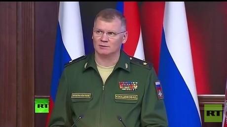 المتحدث الرسمي باسم الوزارة، اللواء إيغور كوناشينكوف