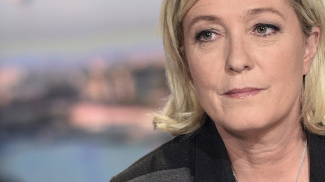 مرشحة الانتخابات الرئاسة في فرنسا ماري لوبان