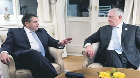 وزيرا خارجية الولايات المتحدة وألمانيا