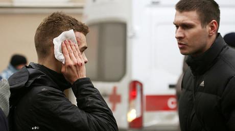 مصاب في تفجير مترو الأنفاق بمدينة سان بطرسبورغ