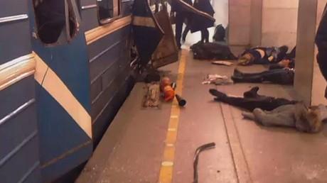قتلى وجرحى بانفجار في سان بطرسبورغ