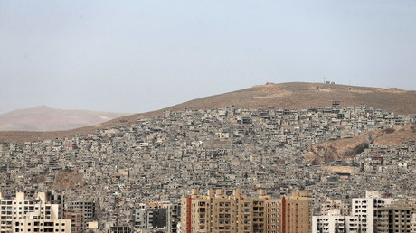 جبل قاسيون في دمشق