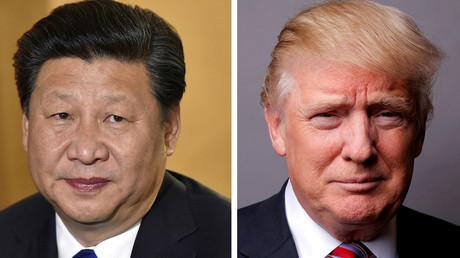 الرئيسان الأمريكي دونالد ترامب ونظيره الصيني شي جين بينغ