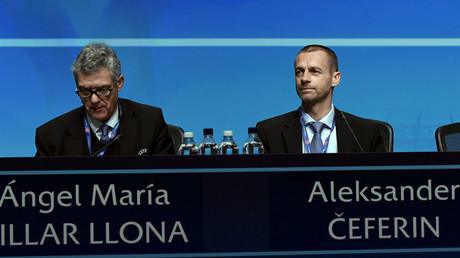 رئيس الاتحاد الأوروبي لكرة القدم