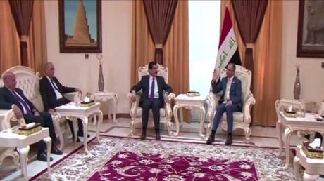 وفد من إقليم كردستان.. في بغداد