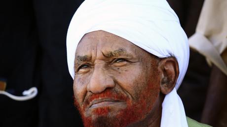 الصادق المهدي رئيس حزب الأمة القومي في السودان