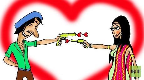 """""""الحب"""" يقتل الهنود أكثر من الهجمات الإرهابية!"""