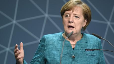 المستشارة الألمانية، أنغيلا ميركل.