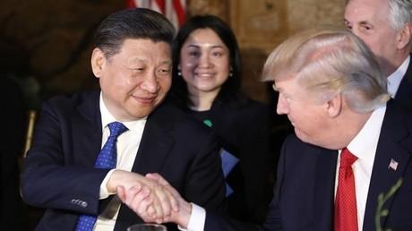 دونالد ترامب وشي جين بينغ