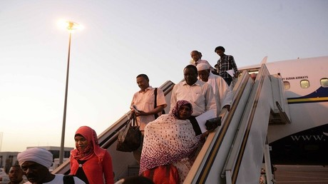 أرشيف - مطار الخرطوم الدولي
