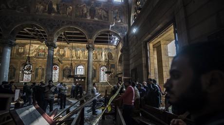 هجوم الكاثدرائية المرقسية في حي العباسية بالقاهرة 11.12.2016