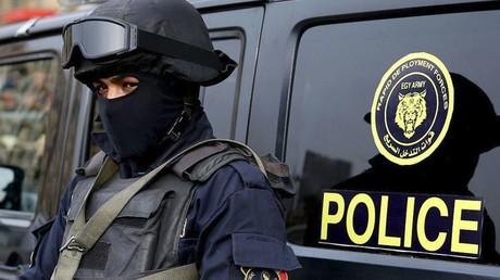 أحد عناصر قوات التدخل السريع في الجيش المصري