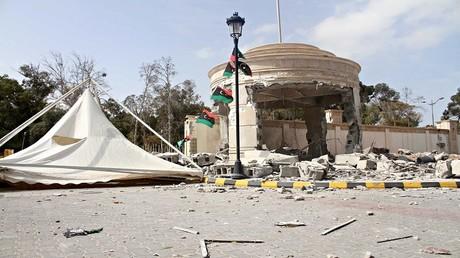 طرابلس، ليبيا، 15 مارس 2017