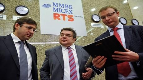 الأسهم الروسية تعوض خسائرها نتيجة تفاؤل بلقاء لافروف وتيلرسون
