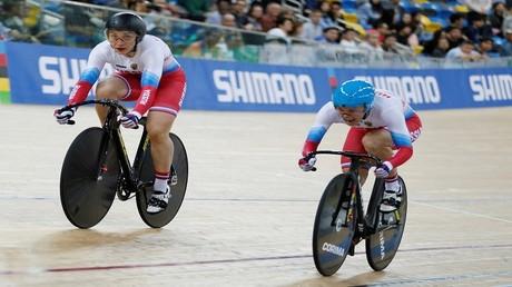 الروسيتان فاينوفا وشميلوفا تفوزان بذهبية بطولة العالم للدراجات الهوائية