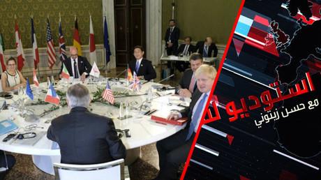 الأزمة السورية والتوتر بين روسيا والغرب