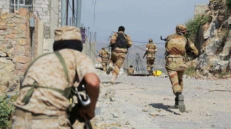 جانب من معارك اليمن