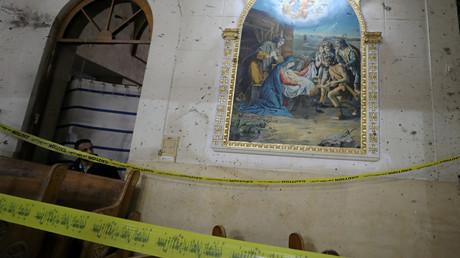 """كنيسة """"مارجرجس"""" في طنطا"""