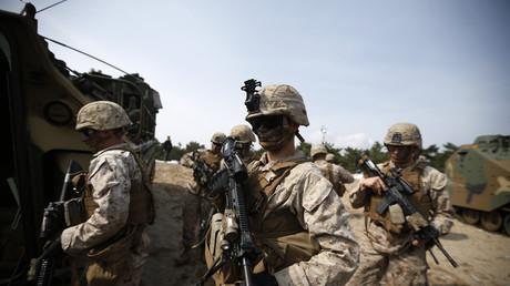 جنود أمريكيون في كوريا الجنوبية - أرشيف